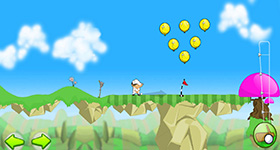 Бодрый гольф (Bouncy Golf)