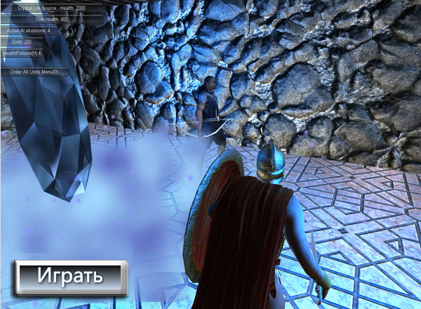 Защита Кристалла (Protect The Crystal)