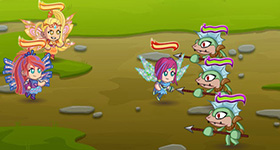 �������� ����� (Winx Bloomix Battle)